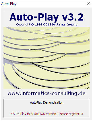 Click to view Auto-Play 3.2.140 screenshot